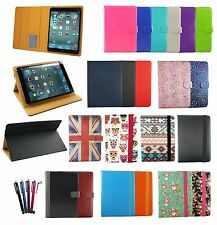 Universal Wallet Case Cover with stand fits BQ Elcano 2 QuadCore Tablet