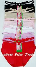 Mix Style Panties Lot,Pack of 6 pcs Panties,Bikini,Boyshort,Thong,Lace Underwear