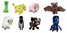 Minecraft 7 inch Soft Plush Toys Hostile and Animals from Series 1 and 2 Mojang