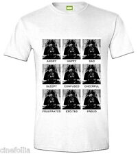 T-Shirt Star Wars Darth Vader expressions maglia Uomo ufficiale by Timecity