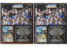 Golden State Warriors 2015 NBA Champions Photo Plaque Stephen Curry