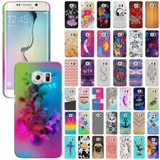 For Samsung Galaxy S6 Edge G925 Various Image Design Hard Back Case Cover Skin