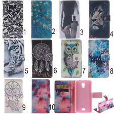 New Flip PU Leather Card Slots Wallet Stand Case Cover For Wiko/Apple/Sony/Nokia