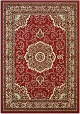 Isfahan Red Traditional Area Rugs Carpet 2x3 2x7 5x7 8x10 Rug Persian oriental