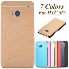 MOTOMO Case For HTC One M7 M8 M9 A9 Metal Aluminum Brushed Hard Skin Case Cover