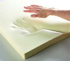 100% MEMORY FOAM MATTRESS TOPPERS ALL SIZES & DEPTHS + FREE ZIP REMOVABLE COVER
