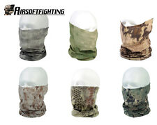 Camouflage Wargame Protection Quick Drying Bicycle Scarf Half Face Mask A-TACS