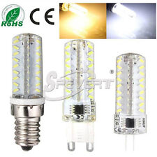 Dimmable G4 G9 E14 3014 SMD 72 LED Light Bulb Garden Home Lamp AC 110/220V