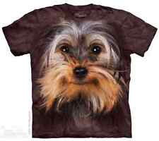 THE MOUNTAIN YORKSHIRE TERRIER FACE CUTE PUPPY DOG PET ANIMAL T TEE SHIRT S-5XL