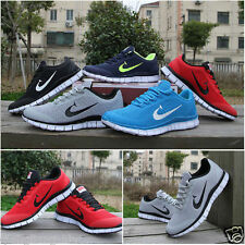 NEW RUNNING TRAINERS MEN'S WALKING SHOCK ABSORBING SPORTS FASHION SHOES SZ UK6-9