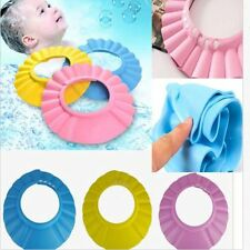Fashion Baby Kids Shampoo Bath Bathing Shower Cap Hat Wash Hair Shield