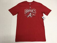 Atlanta Braves Official Majestic MLB  Collection Youth T-Shirt New With Tags
