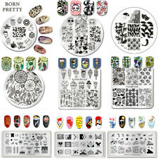 BORN PRETTY Nail Art Stamping Plates Image Stamp Template DIY Manicure Decor DIY