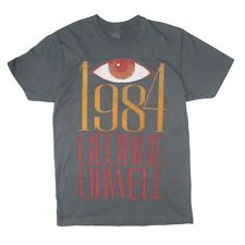 Out Of Print 1984 George Orwell Men's T-Shirt - Grey