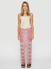 NWT JOHNNY WAS Daja Printed Pant - Casual - Drawstring Tie Waist - Two Pockets