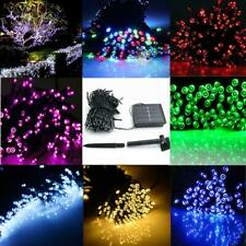 60/100 LED String Solar Light Garden Outdoor Xmas Party Fairy Lamp Multi-color