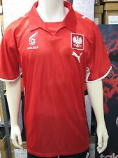 Puma Poland National Team '07-'09 Away Soccer Replica Jersey-Red-NWT