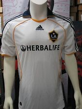 Adidas Los Angeles Galaxy Soccer '08-'09 Home Replica Jersey White NWT