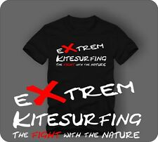 ExTREM Kite surfing the FIGHT with the Nature T-Shirt kite surfing