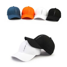 Unisex Mens Womens Patch Plain Solid Color Cap Army Military Cadet Trucker Hats