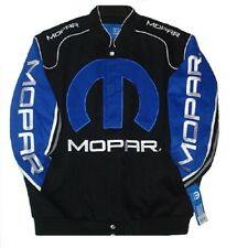 2015 Authentic Dodge Mopar Racing Embroidered Cotton Jacket JH Design Black NEW