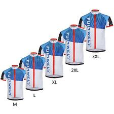 Men Breathable Outdoor Short Sleeve Sportswear MTB Bicycle Cycling Jersey
