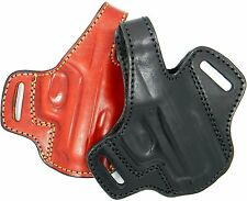 Premium Quality Hand-Made Leather Thumb Break Belt Holster for....