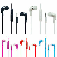 In-ear Stereo Earbuds Headphone Earphone Headset w/ Volume for Samsung Tablet