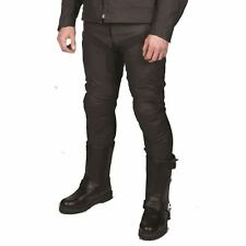 """Tuzo Speed Leather Motorcycle Pants Jeans Trousers Black 26"""" Waist New"""