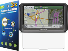 3x Clear Anti-Glare Matte LCD Screen Protector for Garmin dezl 770 770LMTHD GPS