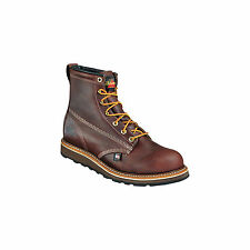 "Thorogood 814-4516 Mens Black Walnut 6"" Plain Non-Safety Toe Wedge Work Boots"