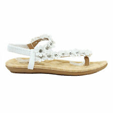 Yab Fashion Spring Summer Flat Sandals in White @ YAB SHOP