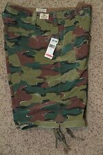 Ralph Lauren Weathered Camouflage Cargo Parachute Shorts New NWT