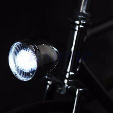 Retro Bicycle Bike Accessory Vintage 3LED Headlight Front Light Bracket Stylish