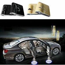 2 x Wireless Car Door LED Welcome Laser Projector Logo Ghost Shadow Light Lamp