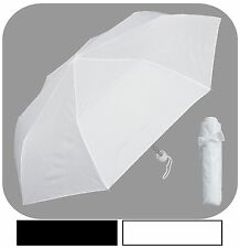 "New Rainstoppers 42"" Mini Rain Umbrella w/Bow Sleeve - Free Priority Shipping"