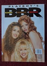 Playboy Magazine Special Edition ~ Blondes Brunettes Redheads 1997 Holly Witt