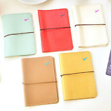 New Travel Leather Passport Organizer Holder Ticket Card Protector Cover Wallet