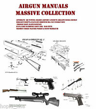 AIR RIFLE BB PISTOL REVOLVER AIRSOFT  GUN OWNERS MANUAL INSTANT DIGITAL DELIVERY