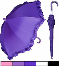 """Lot of 12 - New RainStoppers 34"""" Child Kid Parasol Style Umbrellas-Free Shipping"""