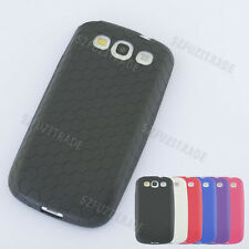 TPU Silicone Extended Battery Case Cover Skin For Samsung Galaxy S3 S III i9300