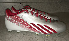 NEW Mens ADIDAS Adizero 5 Star Low 2.0 Silver Red White Molded Football Cleats