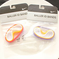 New Nike Baller ID Bands Three Molded Wristbands Adult Unisex 4Colors Available