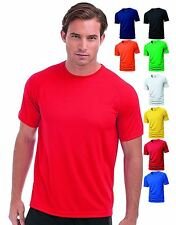 Hanes Mens Sports T-Shirt Cool Dri Wicking Breathable Gym Running Fitness Top