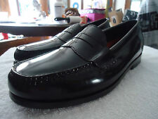 Cole Haan  Pinch Hand Sewn Black Leather Loafers Shoes 10 W
