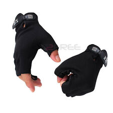 Sports Half Finger Fingerless Camping Hunting Cycling Tactical Gloves All Size