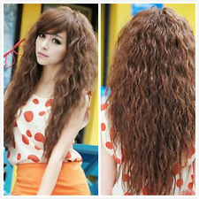 Sexy Women Long Curly Wave Wig Fashion Cosplay Party Full Wigs Costume Anime wig