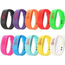 Unisex Couples Sport Watch Rubber LED Digital Watch Date Bracelet Wrist Watch