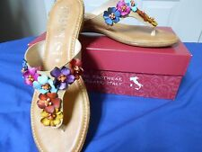 New ladies sandals by Italian Shoemakers  Retail $59.00