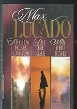 MAX LUCADO  THE GREAT HOUSE OF GOD  JUST LIKE JESUS & WHEN CHRIST COMES(3 IN 1)
